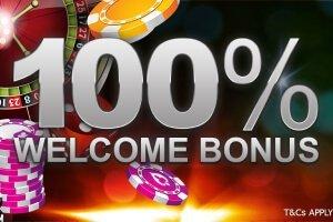 100% welcome bonus empire777
