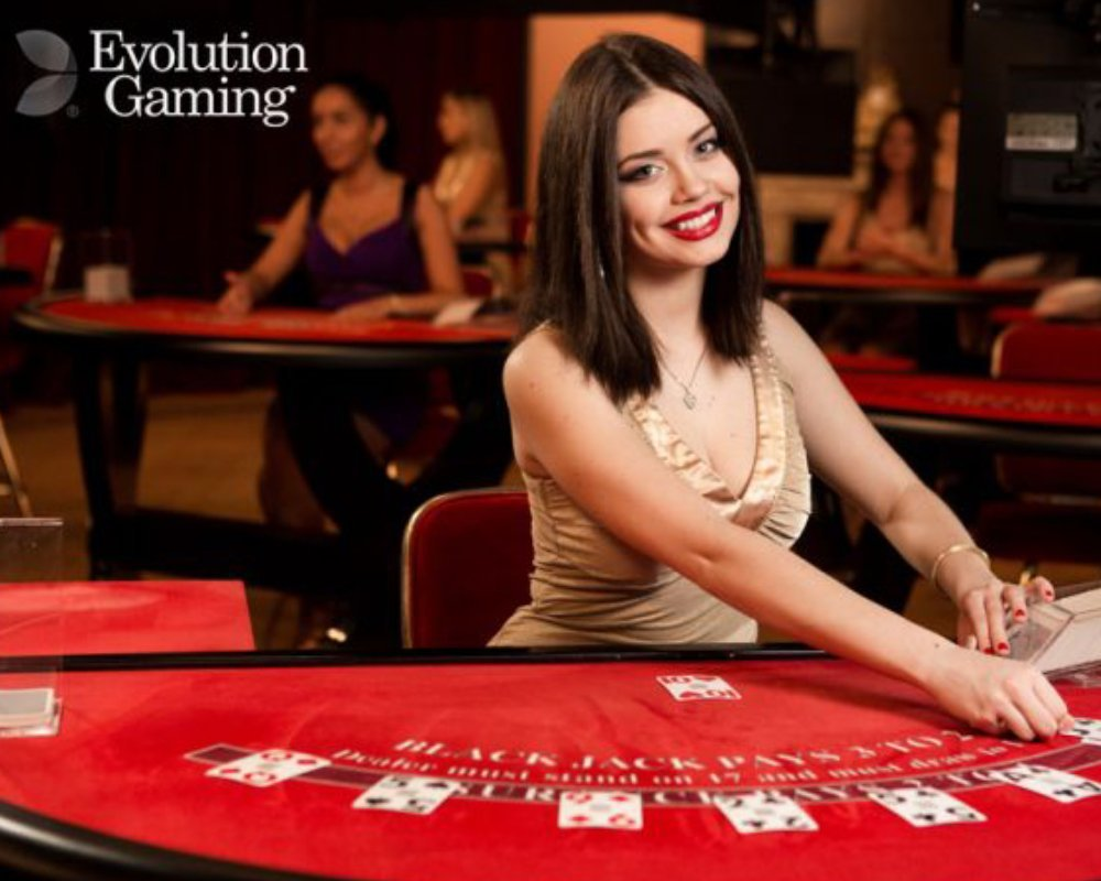 evolution gaming sexiest live dealer
