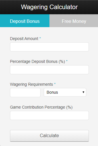 wagering calculator