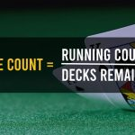 true count formula card counting blackjack strategy